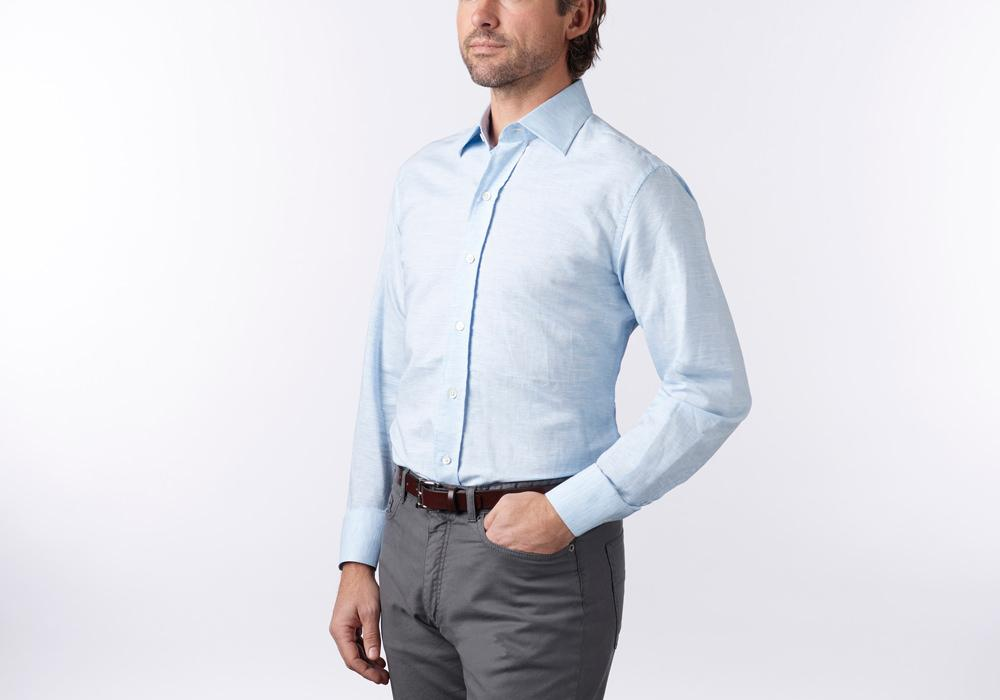 The Blue Edmunton Dress Shirt