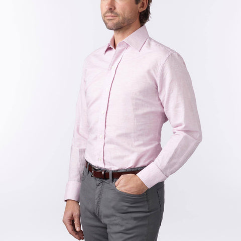 Ledbury | The Lilac Edmunton Dress Shirt
