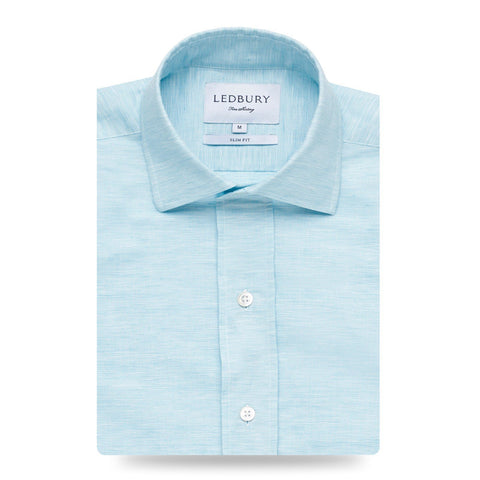 The Surf Blue Edmunton Dress Shirt