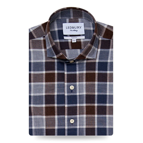 The Tennyson Plaid Casual Shirt | Lebdury Men's Casual Shirts