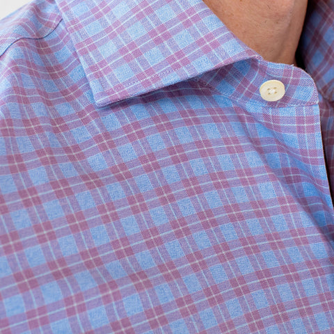 The Lilac Sondra Check Dress Shirt