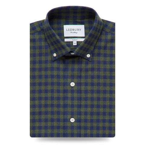 The Maxwell Check Casual Shirt | Ledbury Men's Casual Shirts