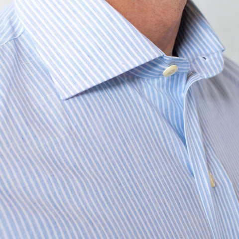 The Atwood Heather Stripe Dress Shirt | Ledbury Men's Dress Shirts