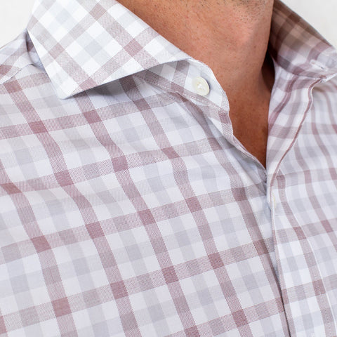 The Cedar Corbly Gingham Dress Shirt | Ledbury Men's Dress Shirts