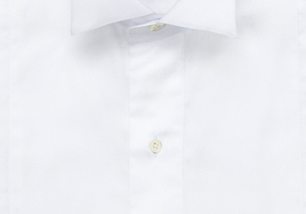 The Regent Wing Collar Tuxedo Shirt Dress Shirt- Ledbury