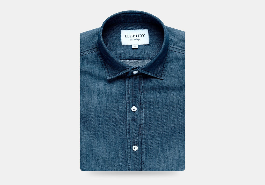 The Greydon Denim Casual Shirt Casual Shirt- Ledbury