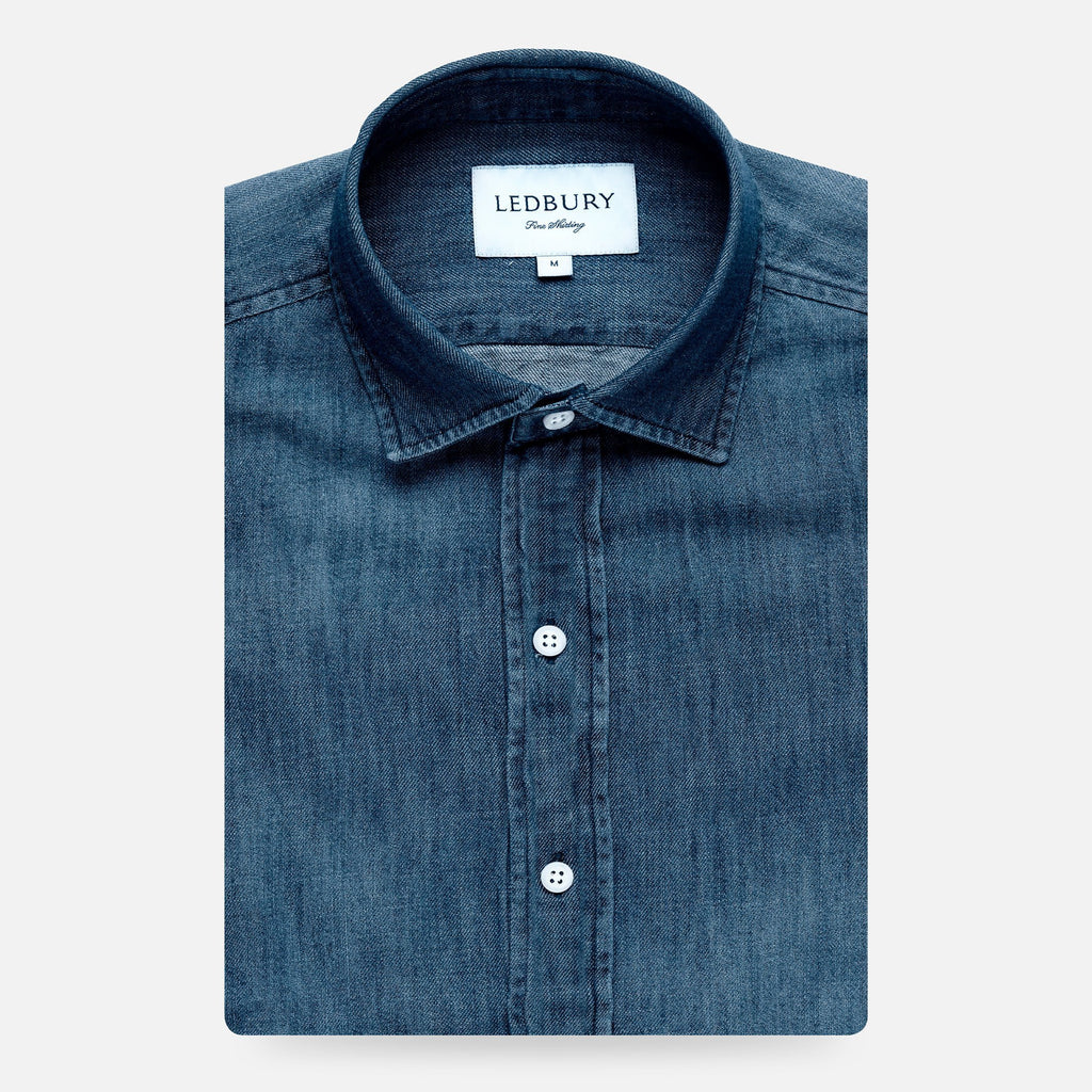The Greydon Denim Casual Shirt | Ledbury Men's Casual Shirts