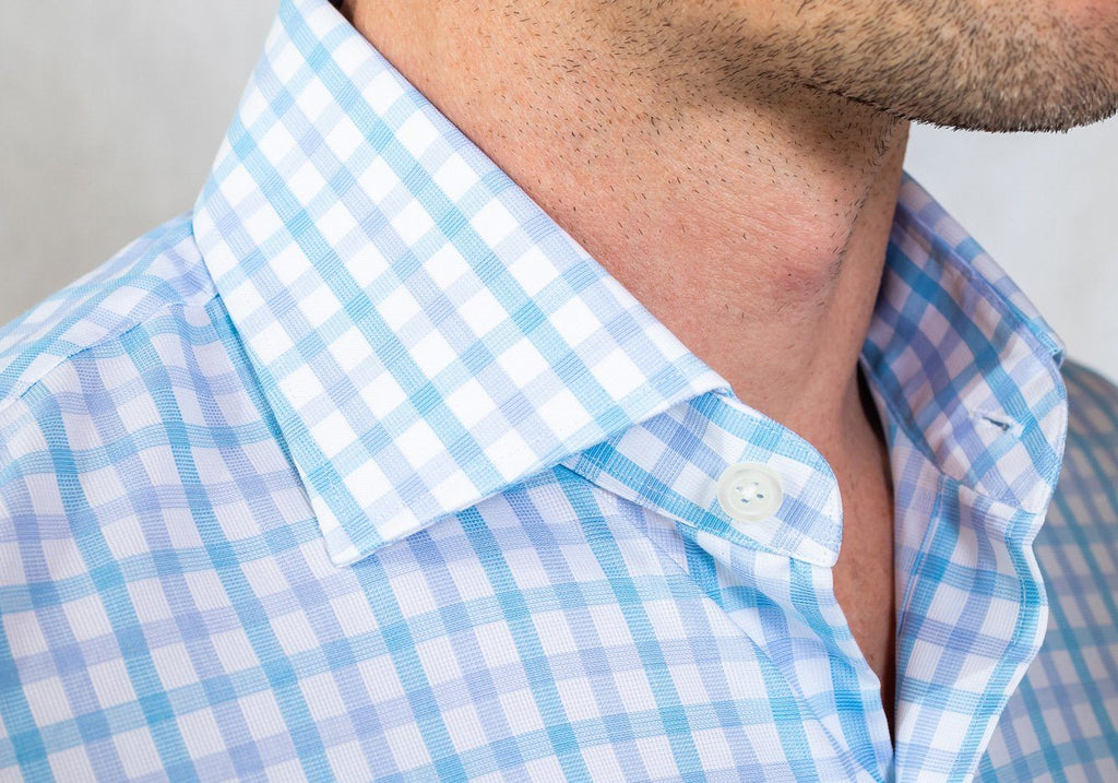 The Aqua Wistrom Check Dress Shirt Dress Shirt- Ledbury