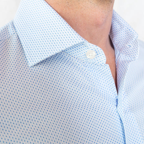 The Blue Chapin Dot Dress Shirt