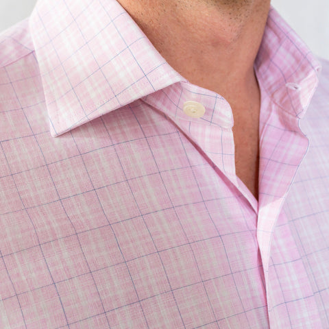 The Berry Quinton Check Dress Shirt