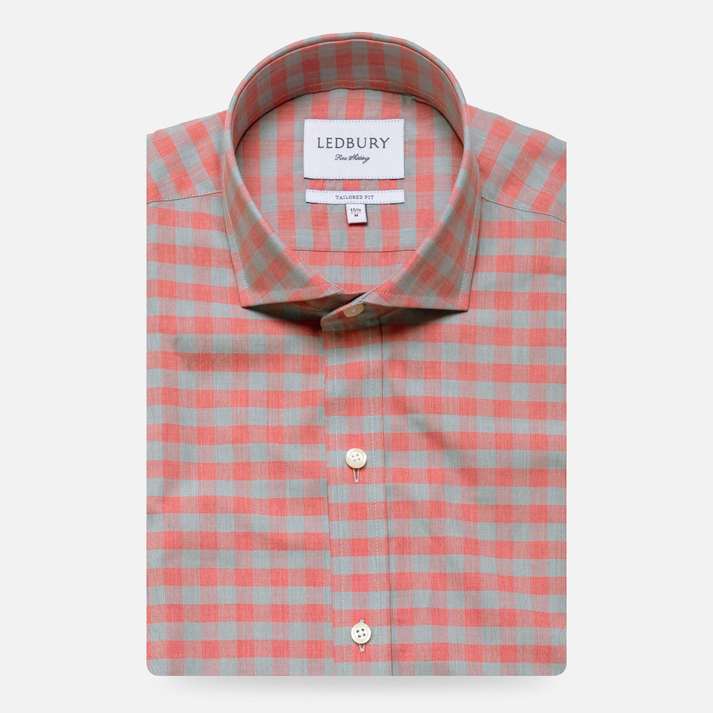 The Belhurst Gingham Casual Shirt
