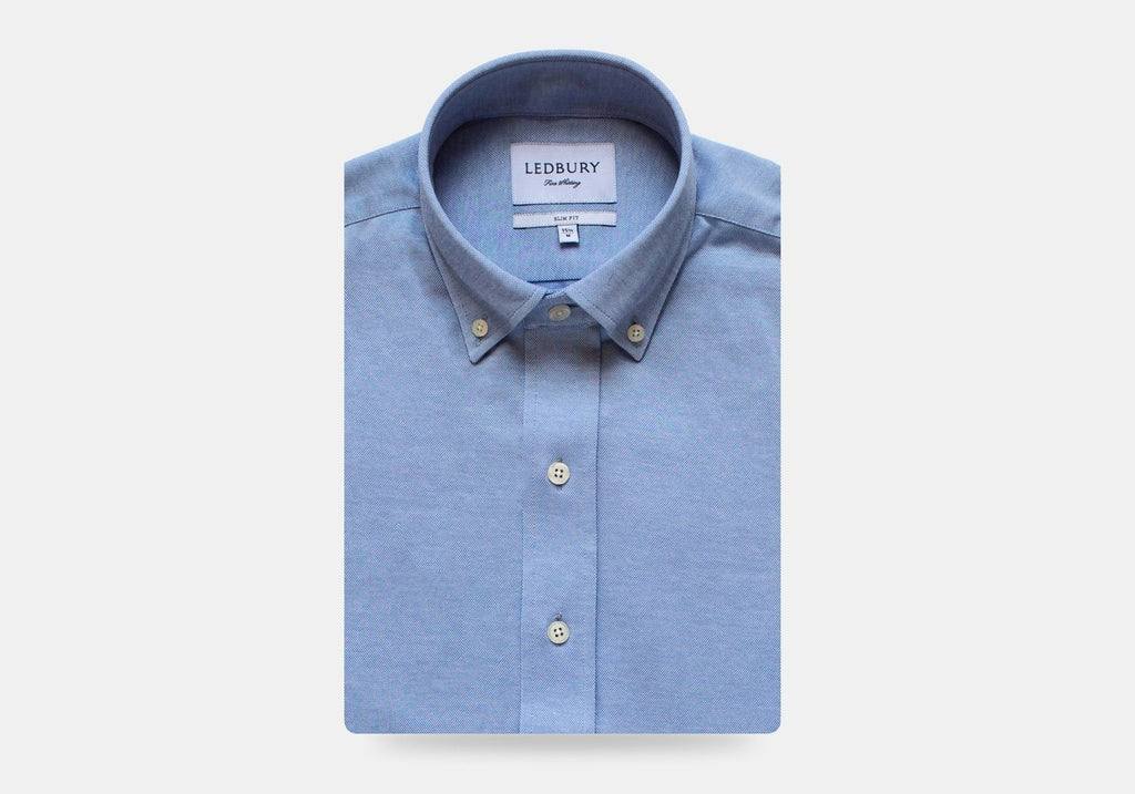 The Light Blue Barksdale Knit Shirt