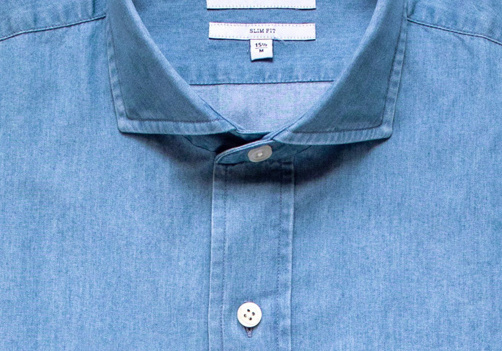 The Beacon Denim Shirt Casual Shirt- Ledbury