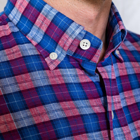 The Rhubarb Seabrooke Plaid Casual Shirt