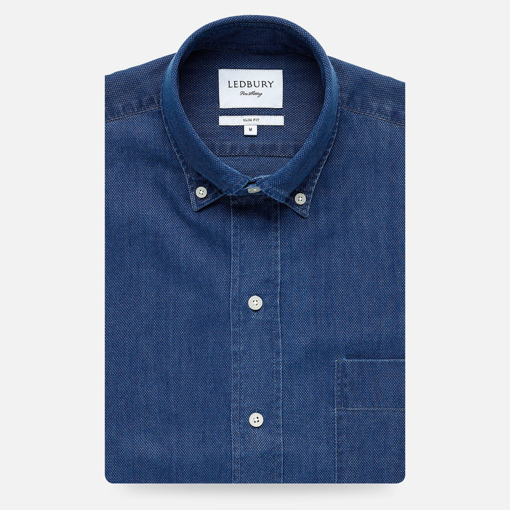 Ledbury | The Indigo Arnett Casual Shirt