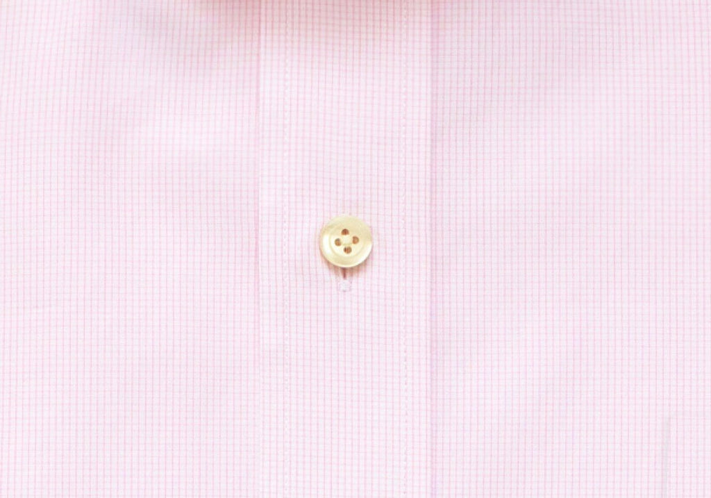 The Pink Fairlake Check Dress Shirt Dress Shirt- Ledbury