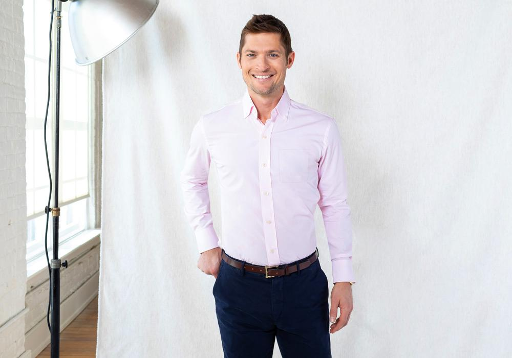 The Pink Fairlake Check Dress Shirt