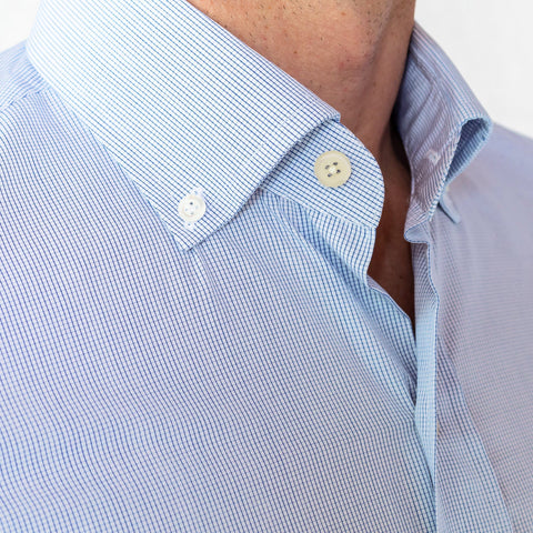 The Navy Fairlake Check Dress Shirt