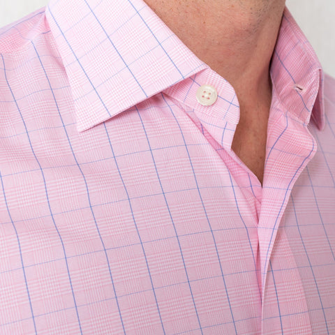 The Pink Tauton Check Dress Shirt