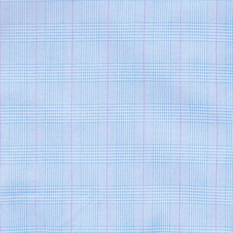 The Light Blue Tauton Check Dress Shirt
