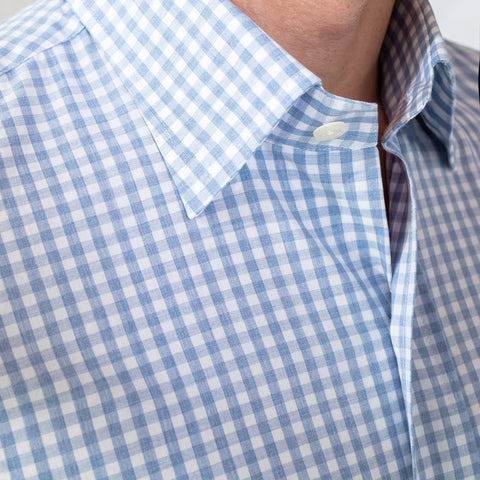 The Blue McAdam Gingham Casual Shirt