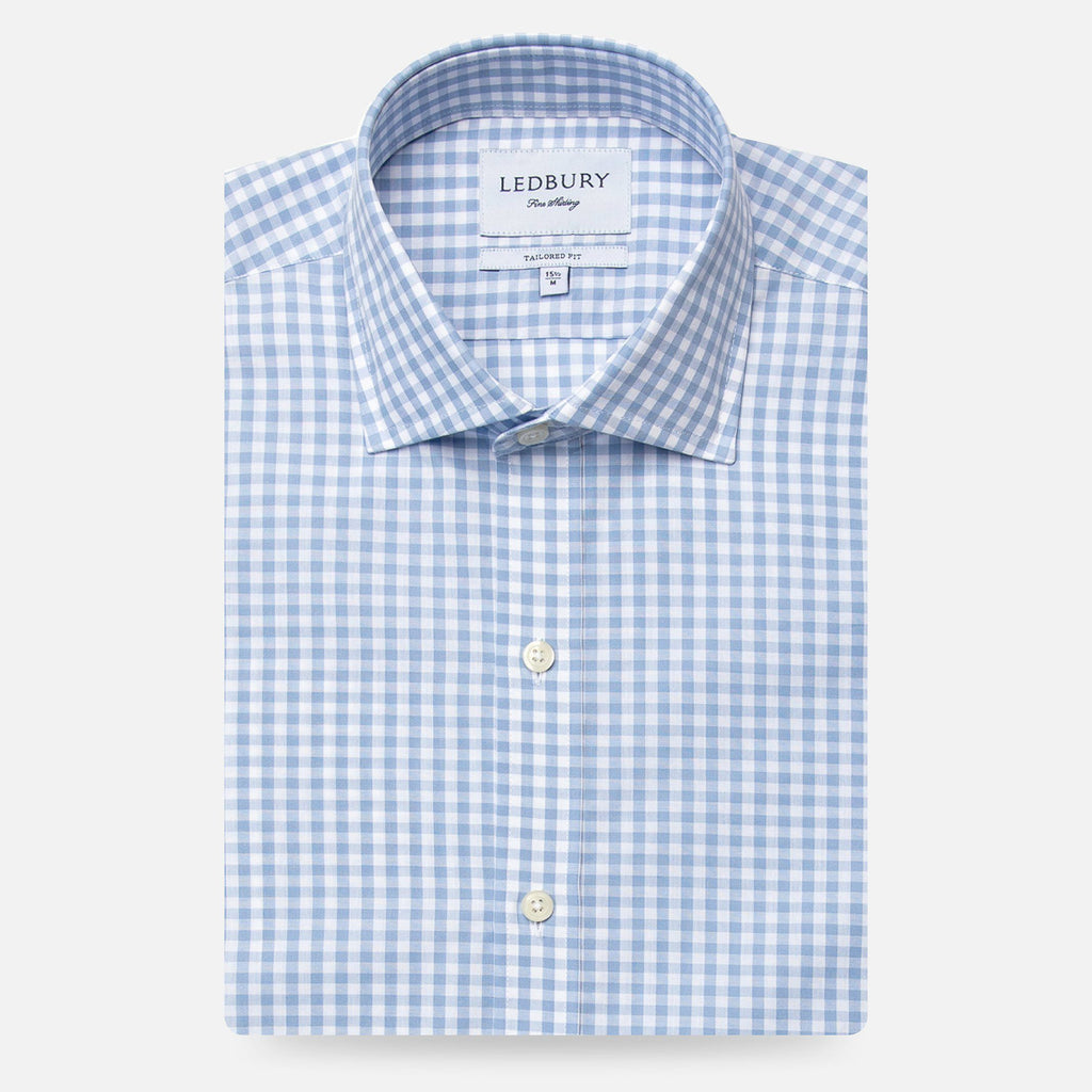 The Blue McAdam Gingham Dress Shirt
