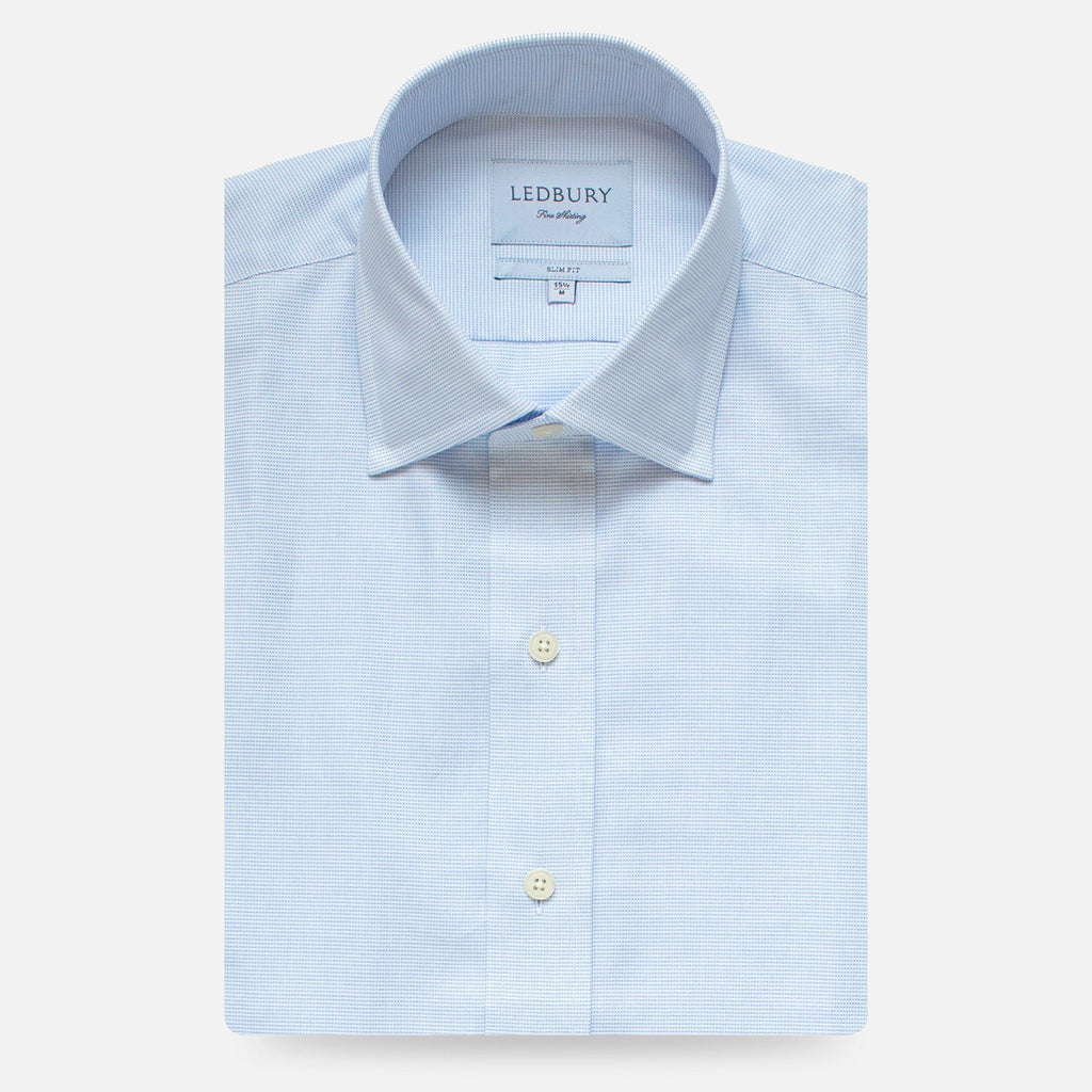 The Light Blue Almont Oxford Dress Shirt Dress Shirt- Ledbury