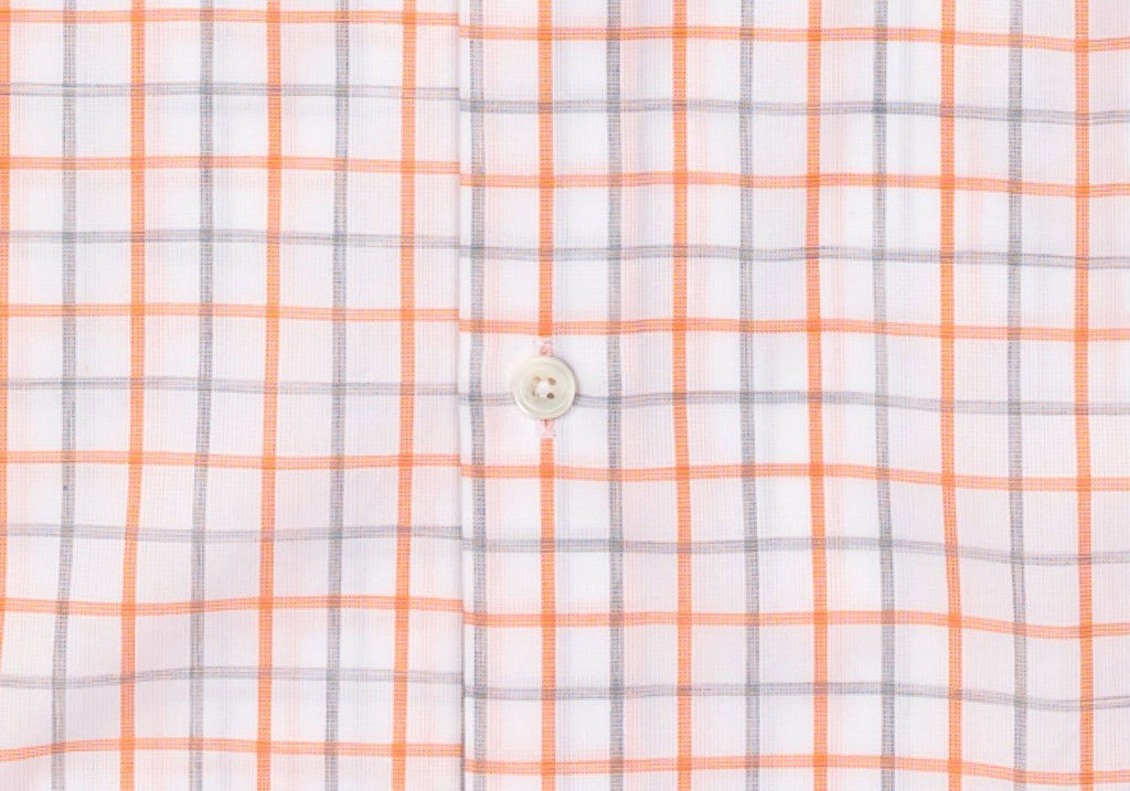 The Apricot Birchcrest Check Dress Shirt Dress Shirt- Ledbury