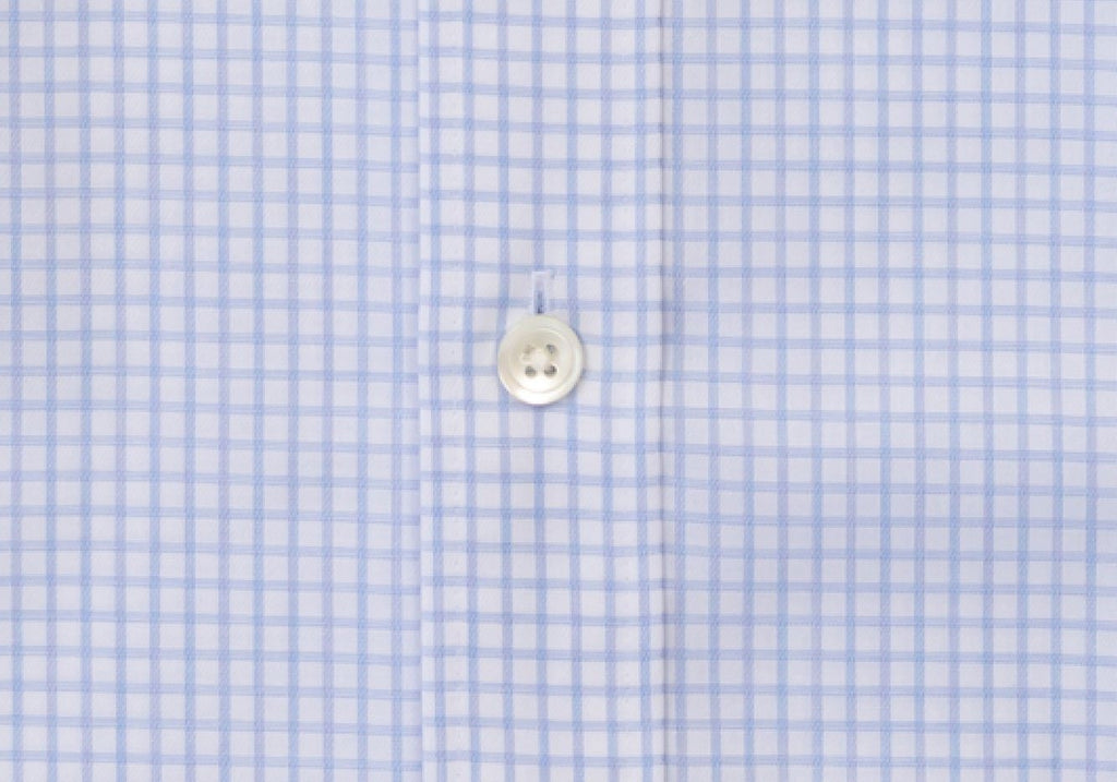 The Blue Windale Check Dress Shirt Dress Shirt- Ledbury