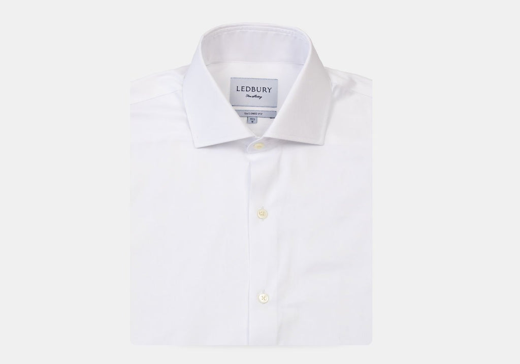 The White Charlevoix French Cuff Dress Shirt Dress Shirt- Ledbury