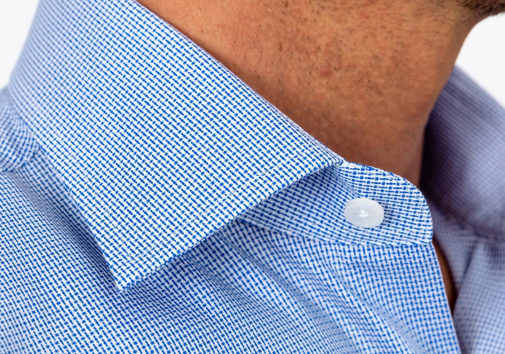The Blue Racton Dobby Casual Shirt Casual Shirt- Ledbury
