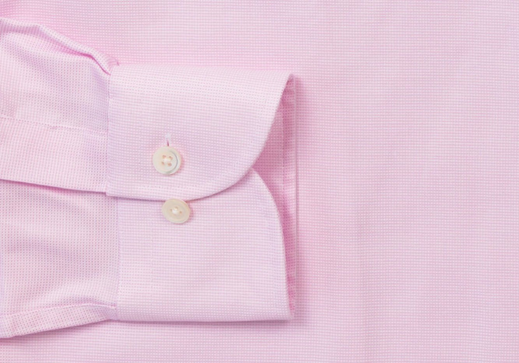 The Pink Breaburn Oxford Dress Shirt Dress Shirt- Ledbury