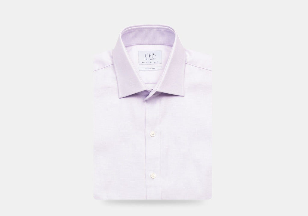 The Lavender Breaburn Oxford Dress Shirt Dress Shirt- Ledbury