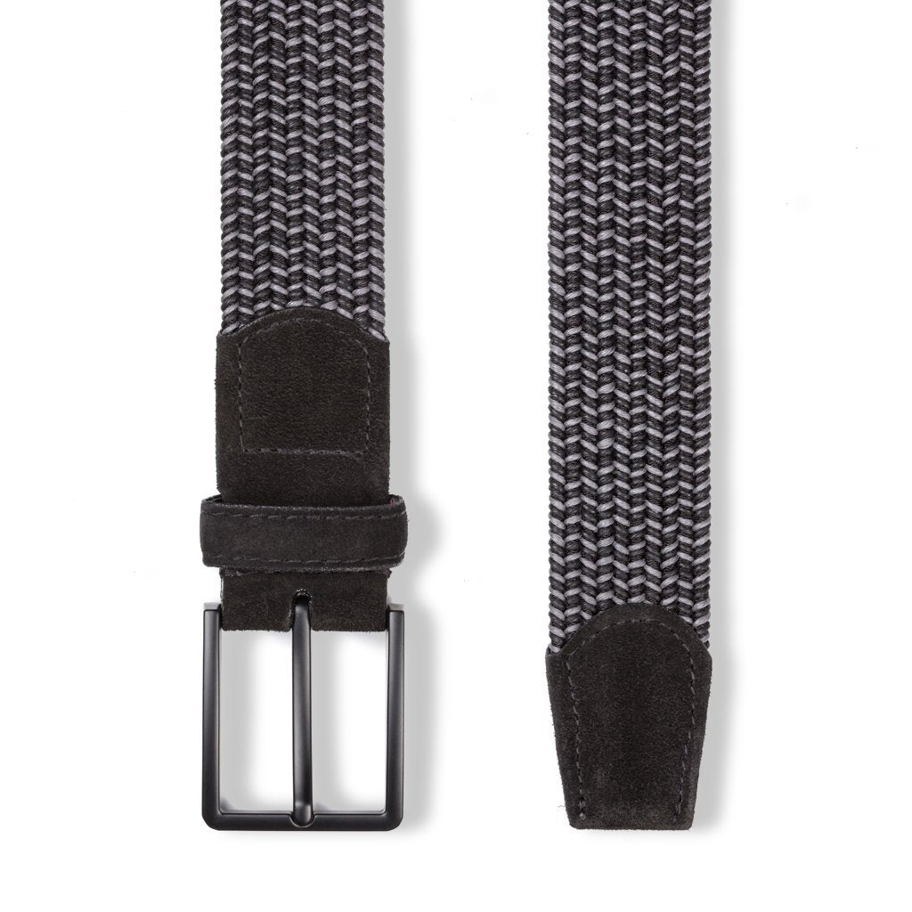 Black & Grey Optic Belt Belts- Ledbury