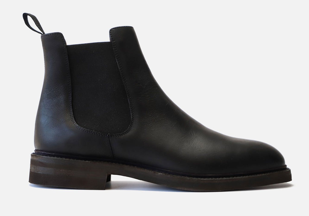 The Black Kingstowne Kudu Leather Boot Boot- Ledbury