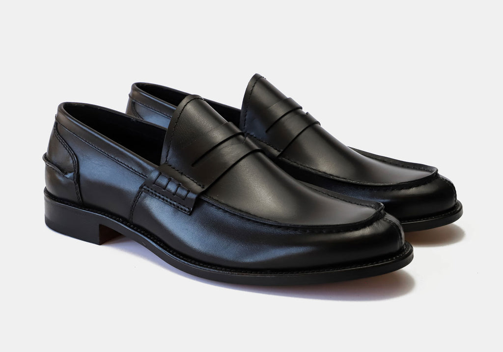 The Black Beckett Leather Loafer Loafer- Ledbury