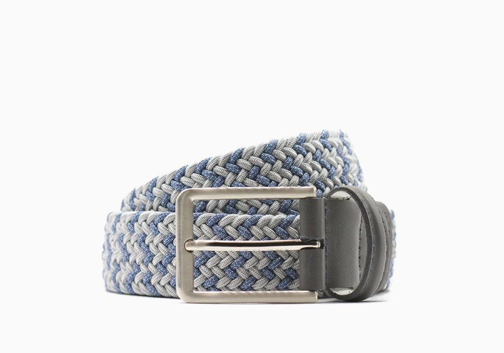 Beltology Grey and Jean Chaos Belt Belt- Ledbury