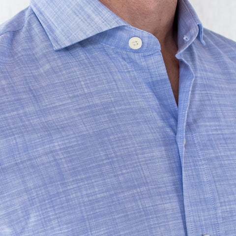 The Blue McDaniel Chambray Casual Shirt