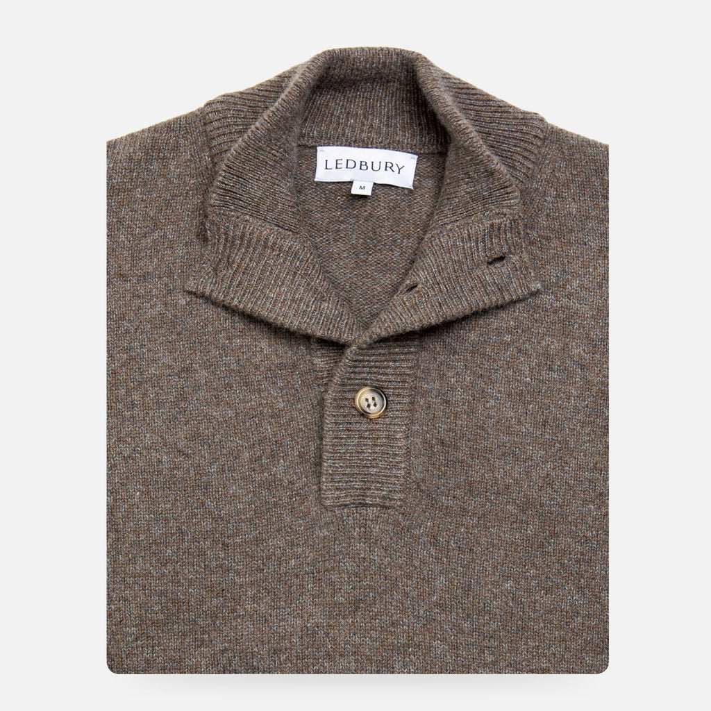 The Seal Heather Brewer Mock Neck Sweater Sweater- Ledbury