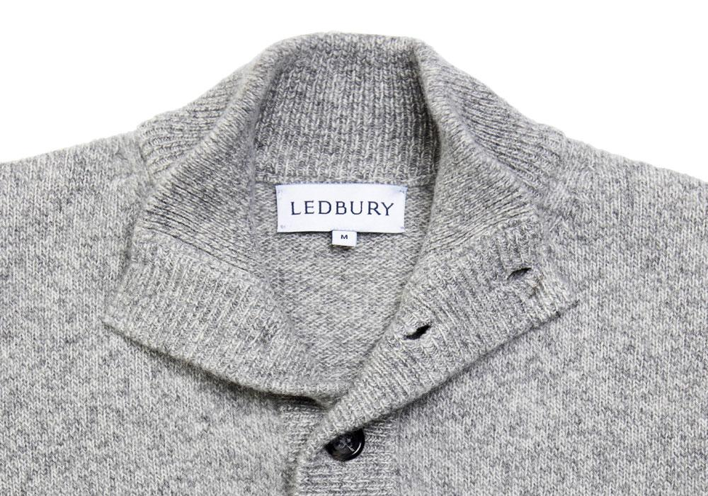 The Smoke Heather Brewer Mock Neck Sweater Sweater- Ledbury