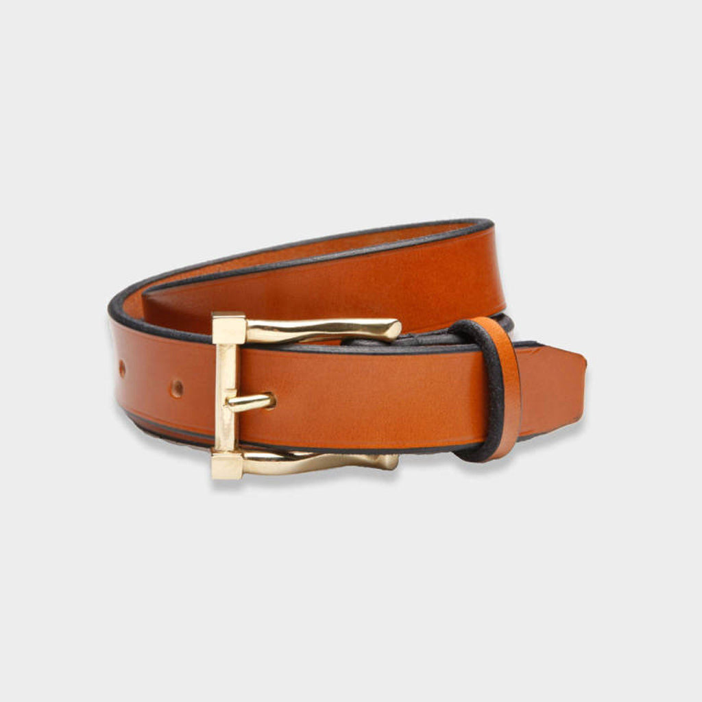 The Cognac Millington Dress Belt Belt- Ledbury