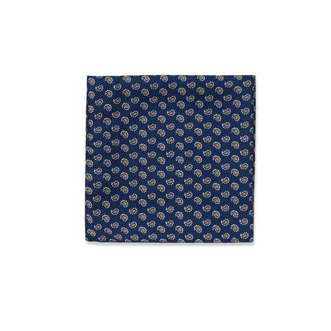 The Dark Blue Dover Pocket Square