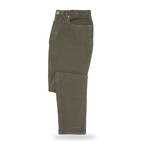 The Olive Franklin 5-Pocket Moleskin Pant | Ledbury Men's Pants