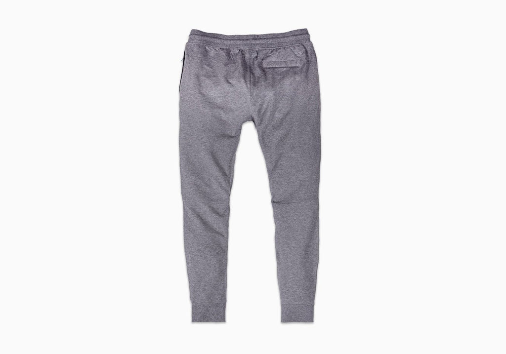 Myles Apparel Heather Gray Storm Cotton Jogger Pants- Ledbury