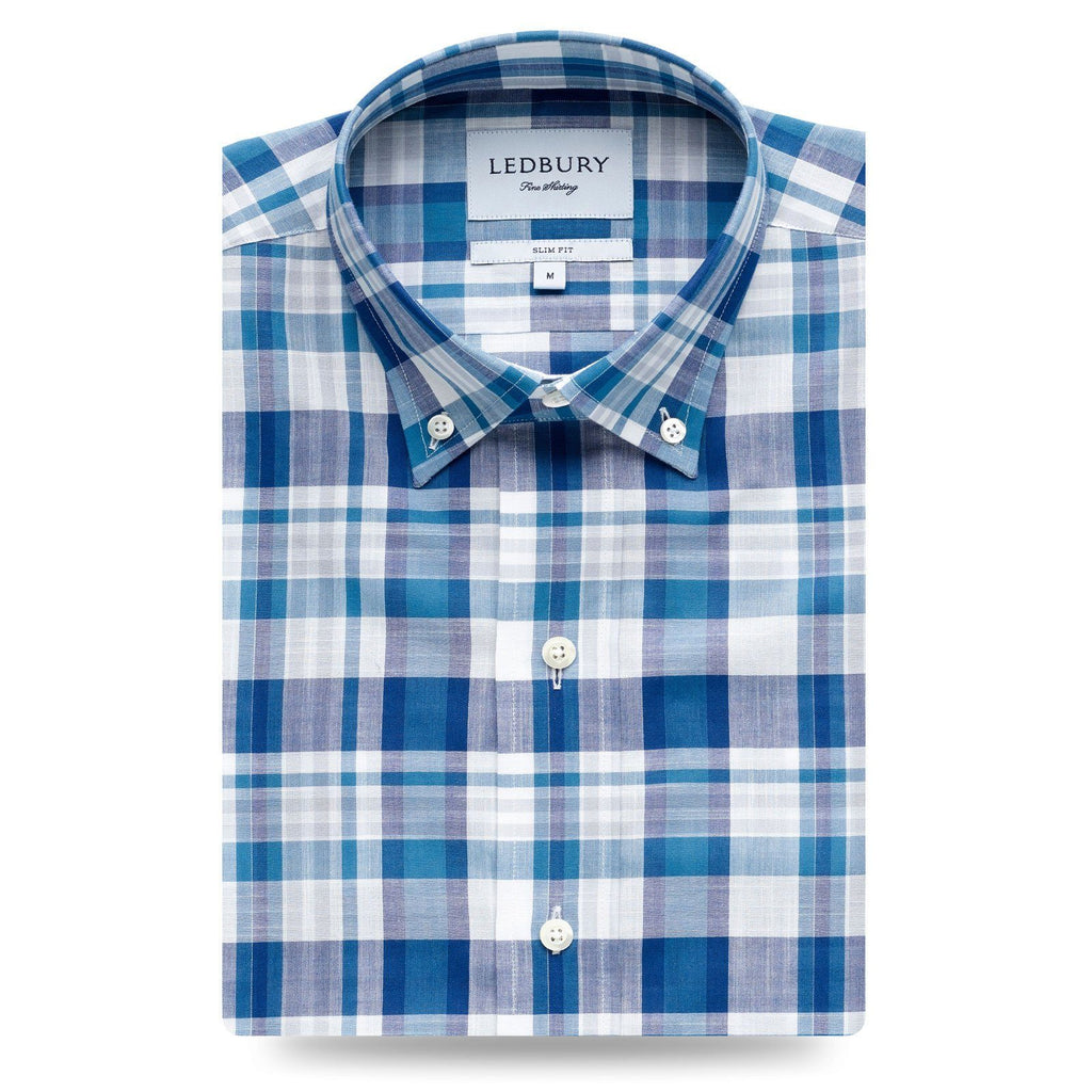 Ledbury | The Keyser Plaid Casual Shirt