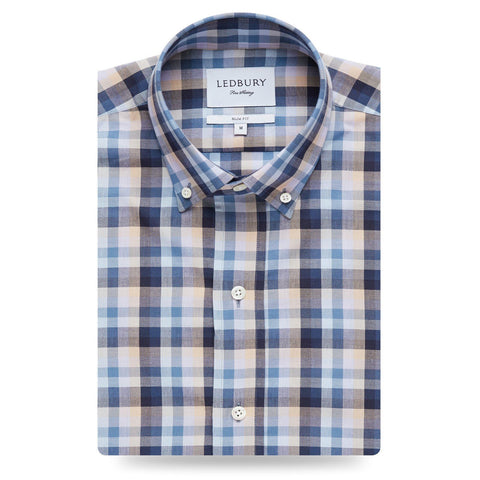 The Lavender McKinley Gingham Casual Shirt