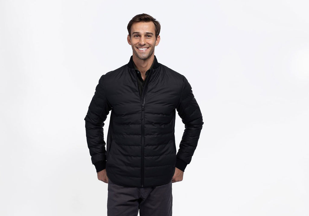 Rains Black Trekker Jacket Outerwear- Ledbury