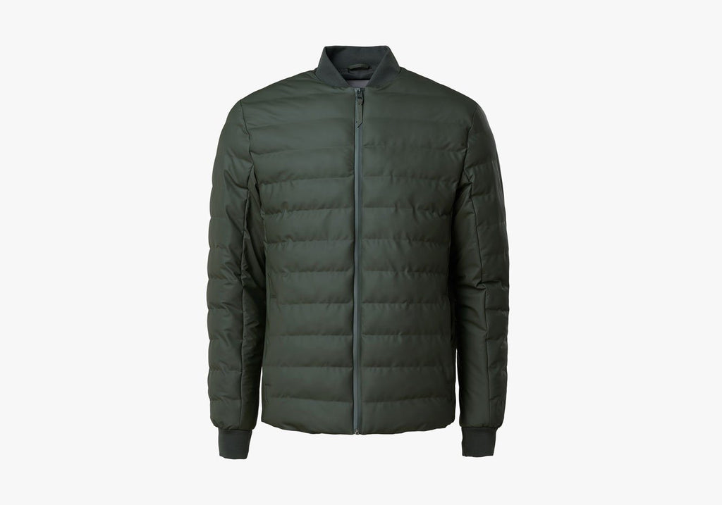 Rains Green Trekker Jacket Outerwear- Ledbury