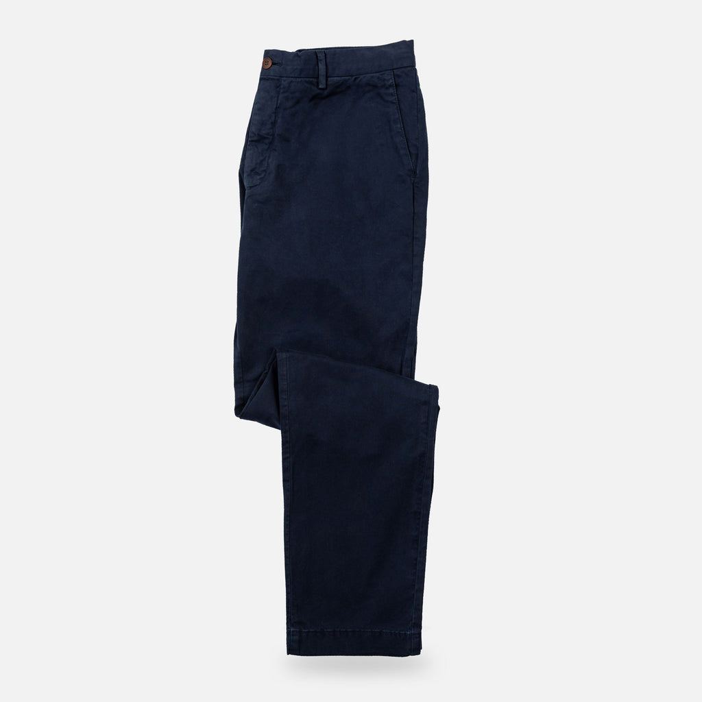 The Navy Richmond Chino Pant Pants- Ledbury