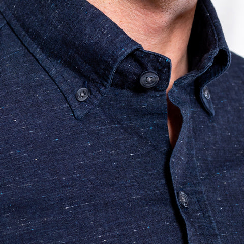 The Navy Denim Edgemere Casual Shirt